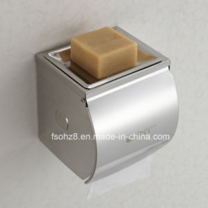 New Design Bathroom Paper Roll Soap Holder with Cover (YMT-003) pictures & photos