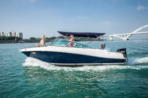 22′ FRP Sporty Leisure Speedboat Hangtong Factory-Direct pictures & photos