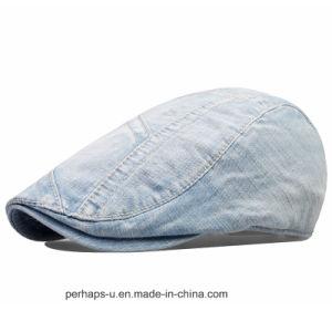 High Quality Men Denim Leisure Fashion Hat Beret Caps pictures & photos