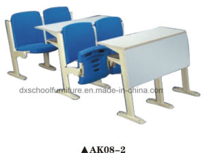 High Quality School Desk and Chair for Step Classroom pictures & photos
