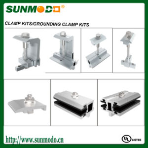 Aluminum Solar Panel Fixing Middle Clamps pictures & photos