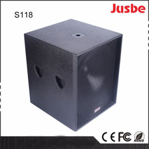 """Hot Sales S118 650W 18"""" Speakers Subwoofer for Theatre pictures & photos"""