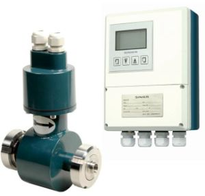 Electromagnetic Flow Meter for Food with Sanitary Connection pictures & photos