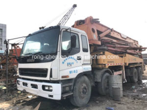 Used Sany Concrete Pump Truck with 42m Boom for Sale pictures & photos