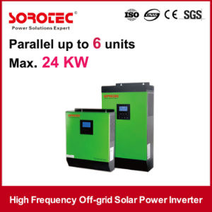 5KVA 4KW Single Phase off Grid Solar Power Inverters System pictures & photos