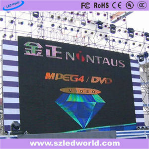 SMD3535 P10 Outdoor Fixed Full Color LED Display Panel Board Screen Factory Advertising pictures & photos