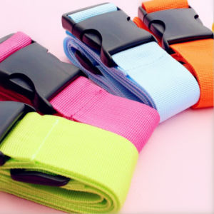 Best Price Polyester Webbing with Plastic Buckle pictures & photos