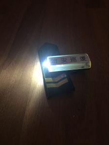 Duty Shoulder Light Warning Shoulder Light Safety Light for Duty pictures & photos