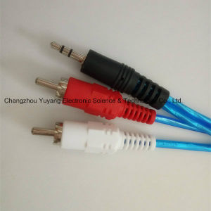 2r-to-3.5sterep Audio/Video AV RCA Cable pictures & photos