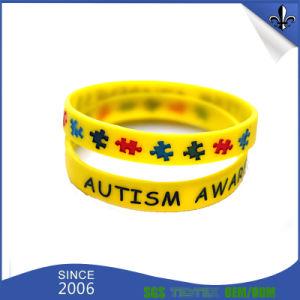 Custom Design Logo Silicone Wristband pictures & photos