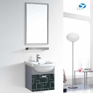 Small Style 304 Stainless Steel Bathroom Cabinet Vanity pictures & photos
