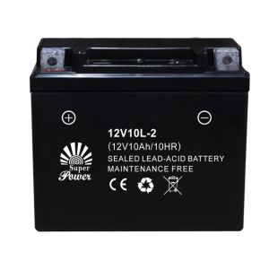VRLA Motorcycle Battery 12V 10ah with CE UL Certificate Called 12V10L-2 pictures & photos