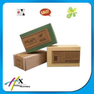 Custom Promotional Printed Kraft Paper Soap Cosmetic Perfume Packing Box pictures & photos