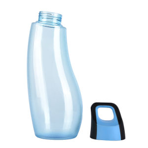 850ml Custom tritan water bottle with eggplant shape, BPA free water bottle pictures & photos