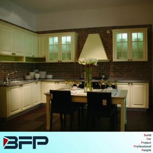 Kitchen Cabinet Simple Designs, PVC Modern Kitchen pictures & photos