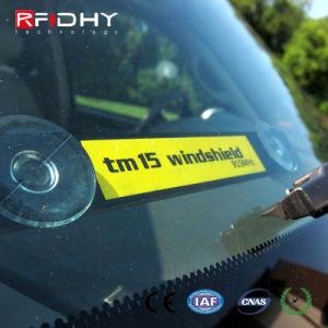 Impinj H3/ H4 Specially Designed RFID Windshield Vehicle Tracking Tag pictures & photos