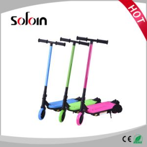 80W Foldable PU/PVC Tire Electric Kick Scooter for Children (SZE80S-1) pictures & photos