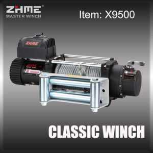 9500lbs Pull 12V Electric Power Resource Winch with Wire Rope pictures & photos