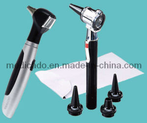 Ce FDA Fiber Optic LED Otoscope (QDMH-7004) with High Quality pictures & photos