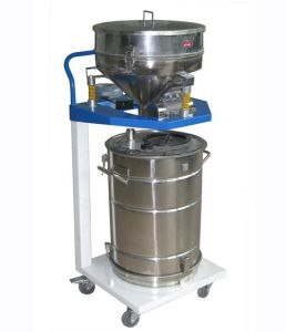 Mannul Powder Coating Recycling Machine pictures & photos