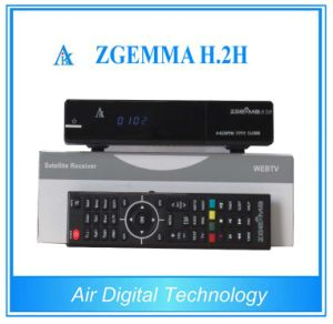 with Dual Core CPU Zgemma H. 2h DVB-S2+T2/C Combo HD Receiver pictures & photos