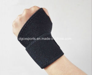 Hot Sale Neoprene Black Wrist Brace Support pictures & photos