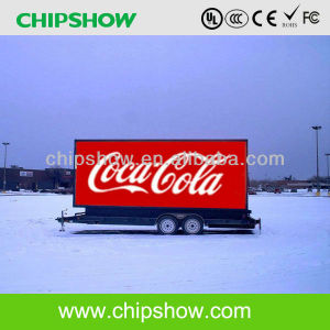 Chipshow P10 RGB Full Color Digital Truck Mobile LED Display pictures & photos
