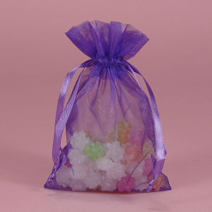 Sheer Organza Pouch with Best Price in China (AM-OB001)