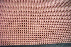 Perforated Silicone Foam Sheet Size 10mm X 0.9m X 1.8m pictures & photos