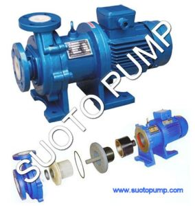 Fluorine Plastic Magnetic Pump (CQB) pictures & photos
