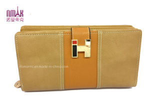 Fashion PU Wallets Purse Lady Handbag with SGS (NMDK-W010)