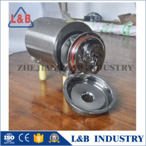 Food Grade Stainless Steel Circular Centrifugal Pump pictures & photos