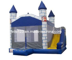 Princess 2n1 Inflatable Castle & Slide (13FL-C02)