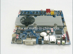 Onboard Intel Core2 Solo CPU Industrial Control Mini Itx Motherboard pictures & photos