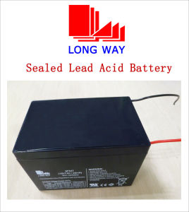 18V7ah Wire Terminal Rechargeable Sealed Lead Acid Battery pictures & photos