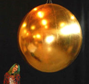 Giant Inflatable Golden Ball for Party Decoration