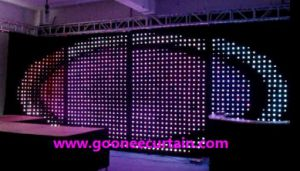 SMD LED P18 LED Video Curtain for Party Supply