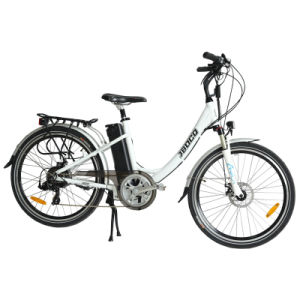 36V/250W Brushless Hub Motor & 10ah Lithium Battery 26 Inch Electric City Bicycle (JB-TDF02Z) pictures & photos