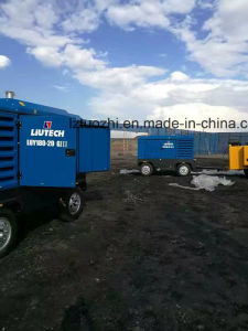 Atlas Copco Liutech 500cfm 14bar Portable Diesel Air Compressor pictures & photos