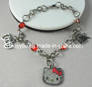 Fashion Jewelry-Hello Kitty Charm Bracelet