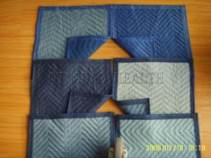 Blue Nonwoven Furniture Moving Blanket pictures & photos