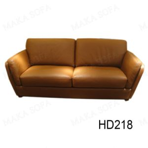 Genuine Leather Sofa (HD-218)