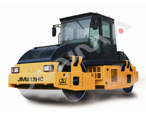 12 Ton Construction Road Roller with Double Drum Vibratory (JM812HC) pictures & photos