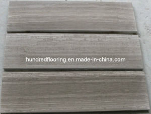 Brown Wood Vein Marble Tile Walnut Brown pictures & photos