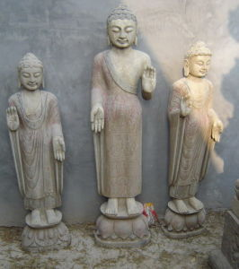 Old Finish Antique Stone Buddha Marble (HS1037) pictures & photos