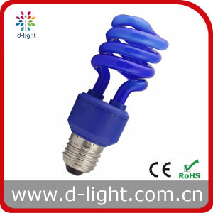 Blue Color Half Spiral Power Saving Lamp/ESL pictures & photos