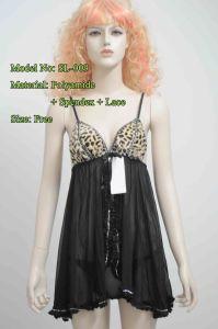 Women′s Sexy Lingerie with Leopard Spots (SL-009)