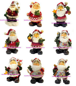 Polyresin Santa Claus of Christmas Gifts pictures & photos