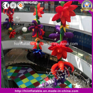Charming Inflatable Flower Chain/ Inflatable Flower Chain Decoration/ Wedding Inflatable Flower