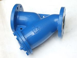 Double Flange Y Strainer, ANSI Class125 and 150 pictures & photos